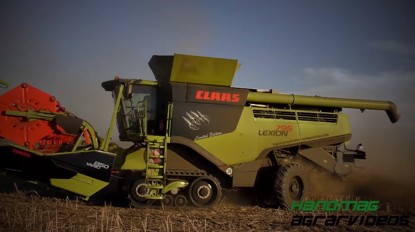 Ganz und zu Extrem 2x NEW BLACK CLAAS LEXION 795 TT MONSTER LIMETED EDITION !!! #XZ_15