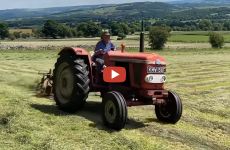 classic-tractor-making-hay